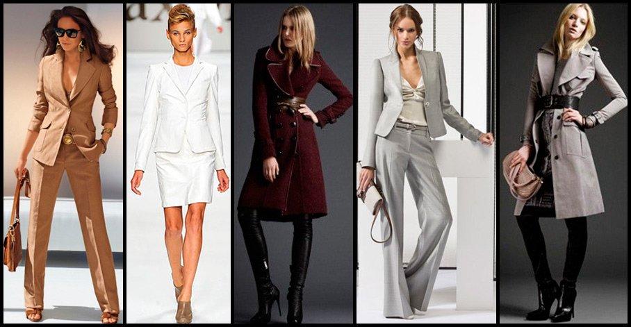 Одежда в деловом стиле не так скушна и однообразна, если добавить к образу немного индивидуальности