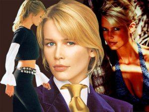 Клаудиа Шифер - одна из самых знаменитых моделей мировых домов моды