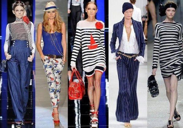 Морской стиль в одежде набирает все большую популярность