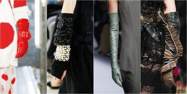 Модные перчатки ведущих дизайнеров