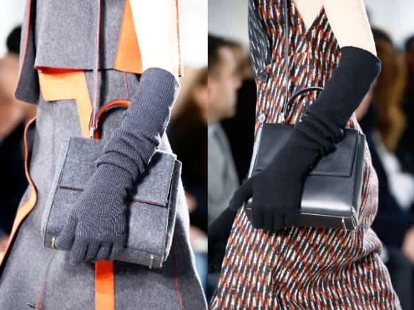 Современные женские перчатки дополняют модный образ