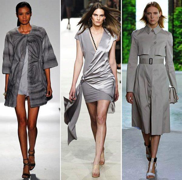 Универсальный серый цвет не выходит из моды