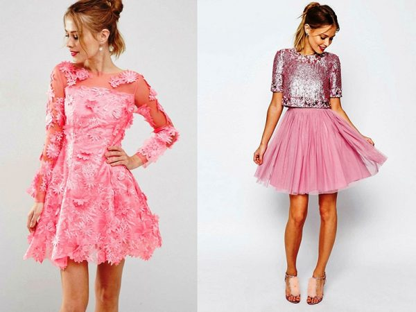 Розовый цвет в одежде создает романтичный и женственный стиль