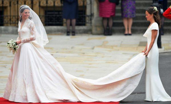 Даже знаменитости выбирают свадебное платье белого цвета