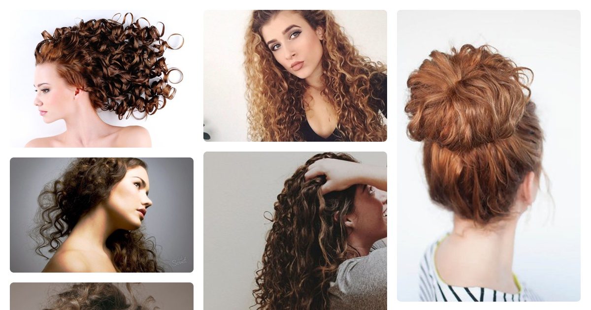 Как в домашних условиях сделать вьющиеся волосы 220
