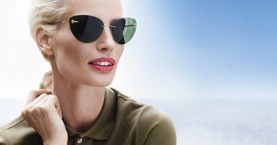 Изящные солнцезащитные очки известного австрийского бренда Silhouette