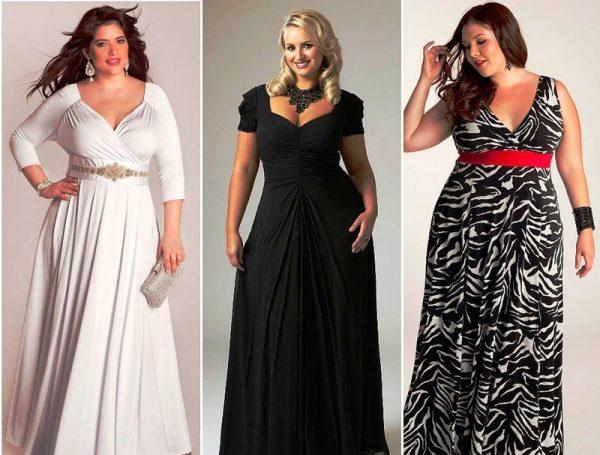 Платье должно мягко облегать фигуру