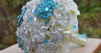 Оригинальные идеи свадебных букетов