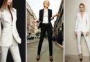 Брючный костюм: модели для разных типов фигуры