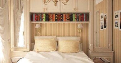 Как декорировать небольшую спальню всего за 4 шага