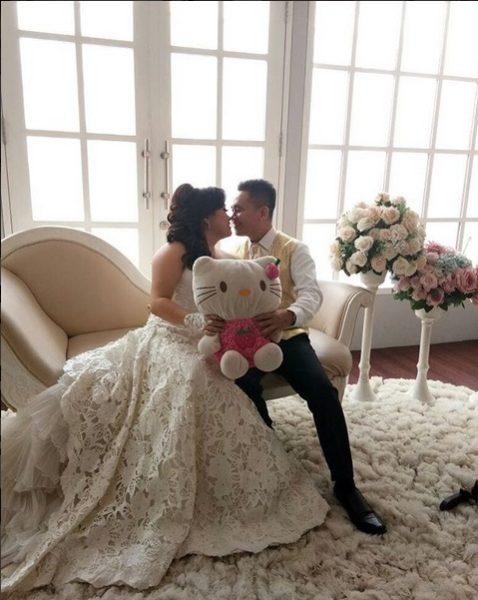 Свадьба в стиле Hello Kitty — свадебные платья, букеты, торты ... d14dcca6032