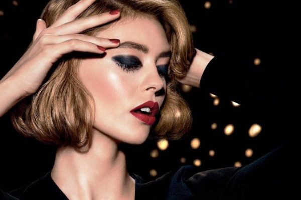 Оригинальный смелый макияж от Christian Dior