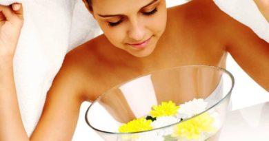 Паровые ванночки для очищения кожи