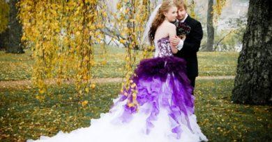 Как выбрать свадебное платье по типу фигуры и цвету ткани