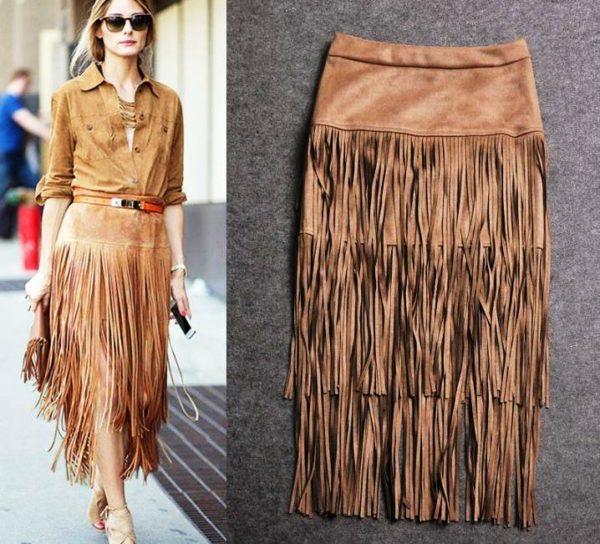 Такая юбка, сделанная своими руками, будет только у вас!