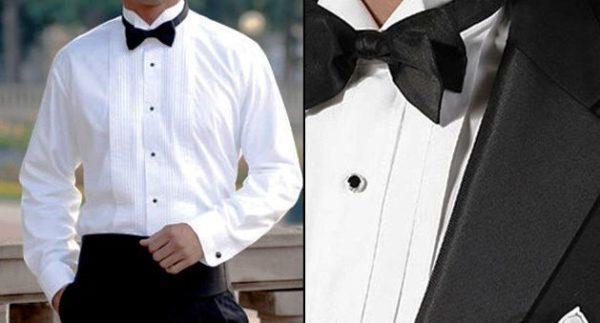 Если вам нужна рубашка в наиболее официальном стиле, например, под фрак с воротником «бабочка» или наиболее строгая рубашка с классическим воротником, но с французскими манжетами под запонки, никакого нагрудного кармана вы в ней, скорее всего, не найдете