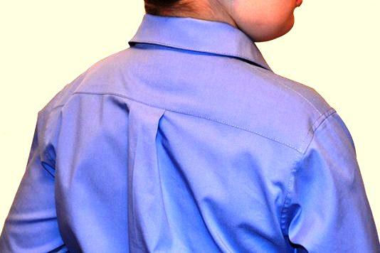 Кокетка - неотъемлемая деталь любой мужской рубашки