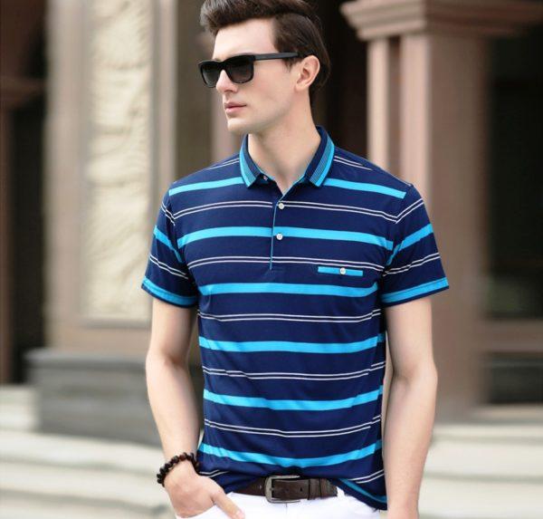 Неформальные рубашки представлены моделями с принтами, геометрическими узорами, узорами в клетку, полоску