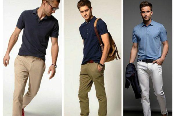 Мужские джинсы, брюки из хлопка подойдут для неформального образа с модными рубашками