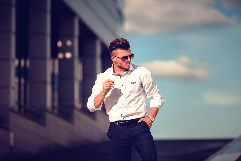 Как мужчине выбрать рубашку по фасону и типу фигуры   WestSharm 1958c9bd001