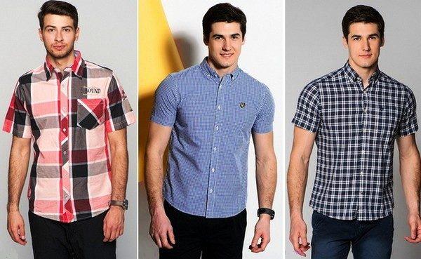 Такие стильные рубашки с коротким рукавом подойдут для творческих,  неординарных мужчин 4c8dba6af67