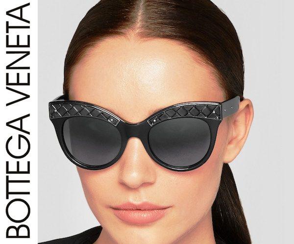 Этот вид декора присутствует на любых очках Bottega Veneta, будь то очки с толстой оправой или очень тонкие металлические