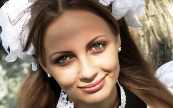 макияж школьниц