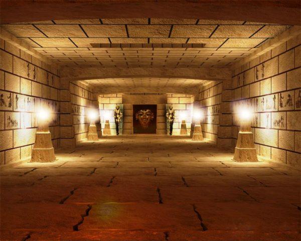 Пирамида Хеопса изнутри