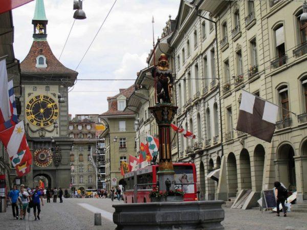 Швейцария Берн Фонтаны