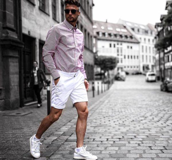 И в шортах можно выглядеть модно и стильно