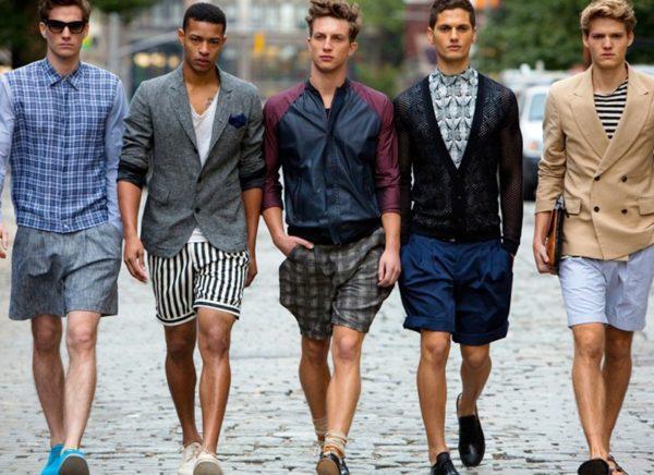 Парни в шортах смотрятся по-настоящему мужественно — особенно, конечно, если с фигурой у них все в порядке