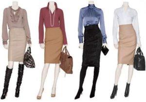 Базовые элементы в женском гардеробе блузка