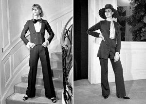 Модное направление подарило женщинам брюки, в богемном стиле соединились и мужской и женский стиль