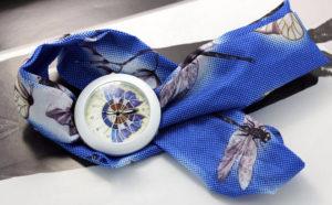 "Часы Geneva ""Синяя бабочка"""