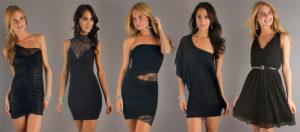 Без маленького черного платья не обходится ни один гардероб