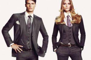 Когда актуален мужской стиль в женской одежде