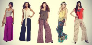Брюки палаццо - такие модные сейчас, для многих являются основой летнего гардероба в уличном стиле