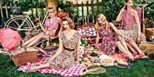 Женская одежда для пикника - платье для свободы движений
