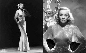 """Стиль Марлен Дитрих - знаменитое """"голое"""" платье, теперь его можно встретить на известных представительницах богемы наших дней"""