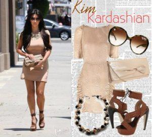 Как Ким Кардашьян относится к моде на одежду nude