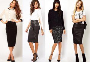 Дизайнеры рекомендуют носить подчеркивающие фигуру узкие юбки-карандаши