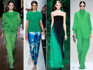 Одна из модных тенденций - единая цветовая гамма