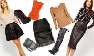 В моду вновь возвращаются кожаные вещи!