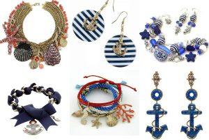 Аксессуары к морскому стилю одежды