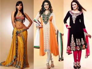 У одежды в индийском стиле натуральные материалы