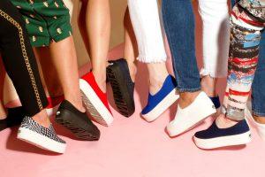 Слипоны относятся к моделям обуви без застежек