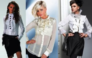 Блузка в викторианском стиле - деликатный и утонченный предмет гардероба
