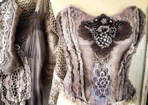 Блузки в стиле бохо – шедевры своими руками