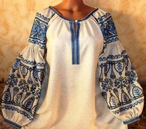 Для создания блузок в стиле бохо используют натуральную ткань
