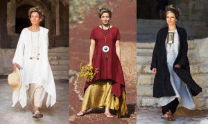 Бохо стиль для 50-летних женщин - любовь к себе и вечная молодость, сквозящая в каждой детали одежды